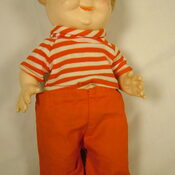Campbell soup kid doll